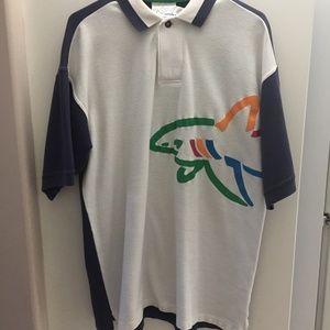 Greg Norman Collection Men's Logo Golf Polo Sz L
